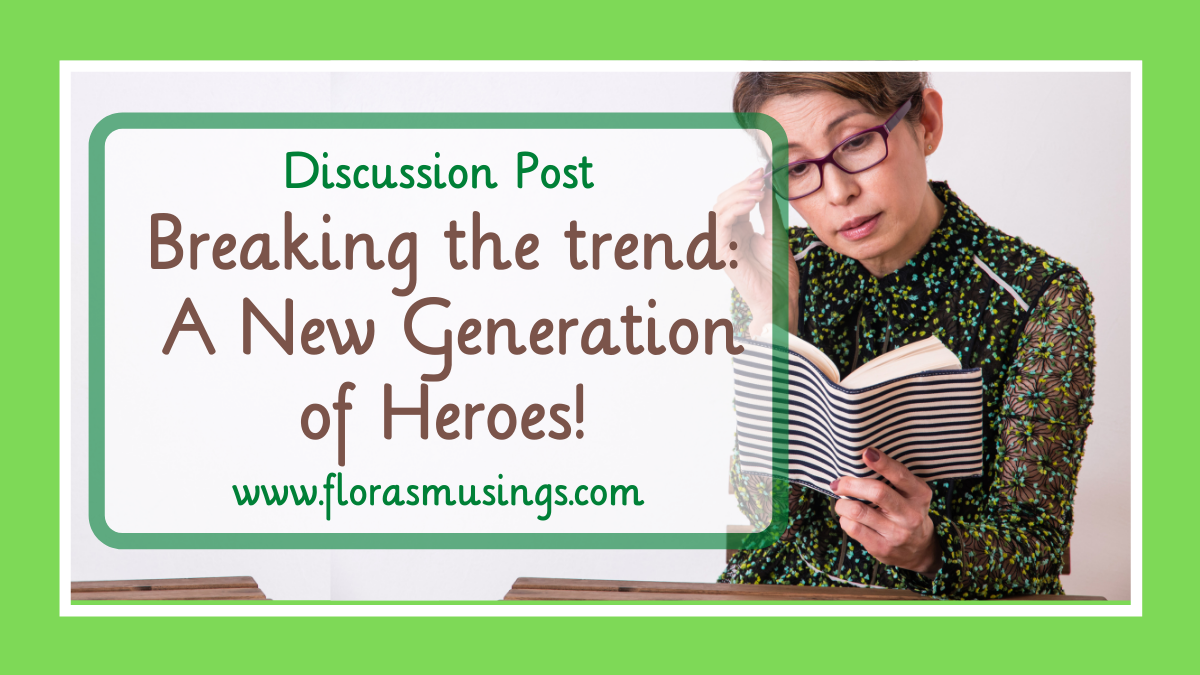 Breaking the trend – A new Generation X of Heroes! #PWF