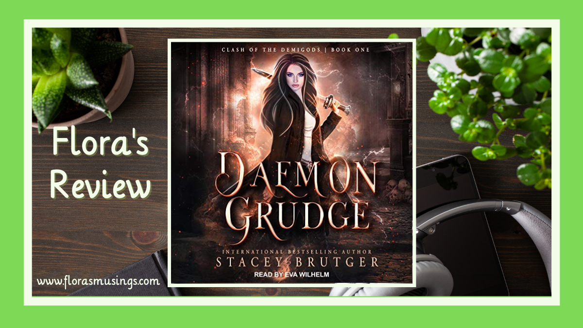 Daemon Grudge (Clash of the Demigods #1) by Stacey Brutger @TantorAudio #2021AudiobookChallenge