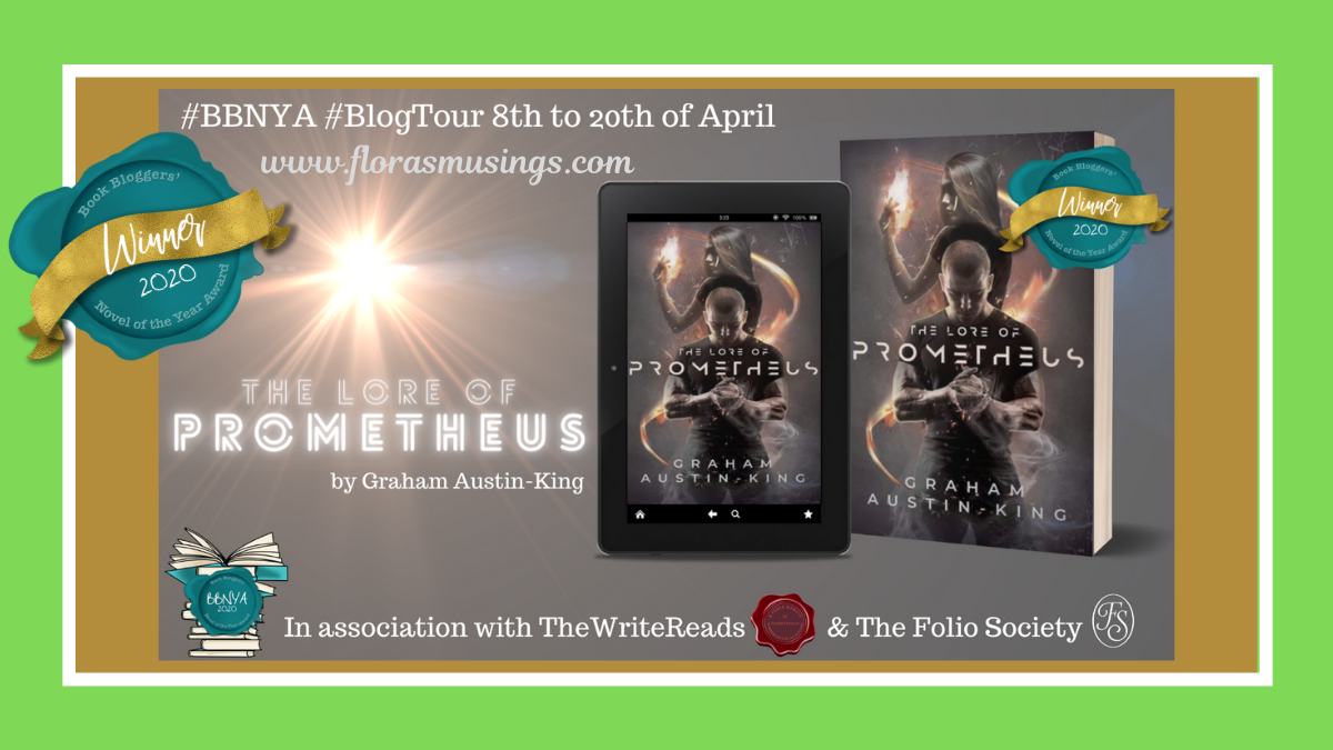 #BBNYA2020 Blog Tour: The Lore of Prometheus by Graham Austin-King  @BBNYA_Official @foliosociety